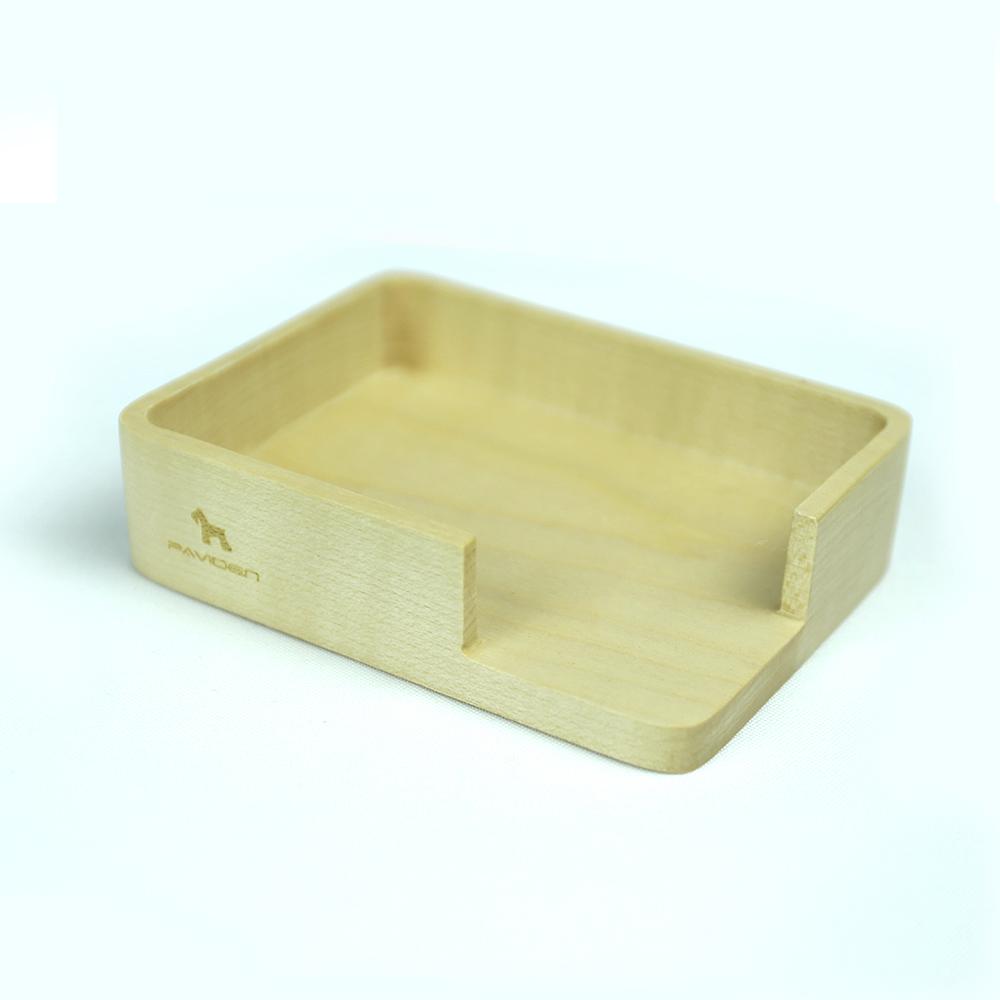 歐菲長方形便條紙盒【楓木】