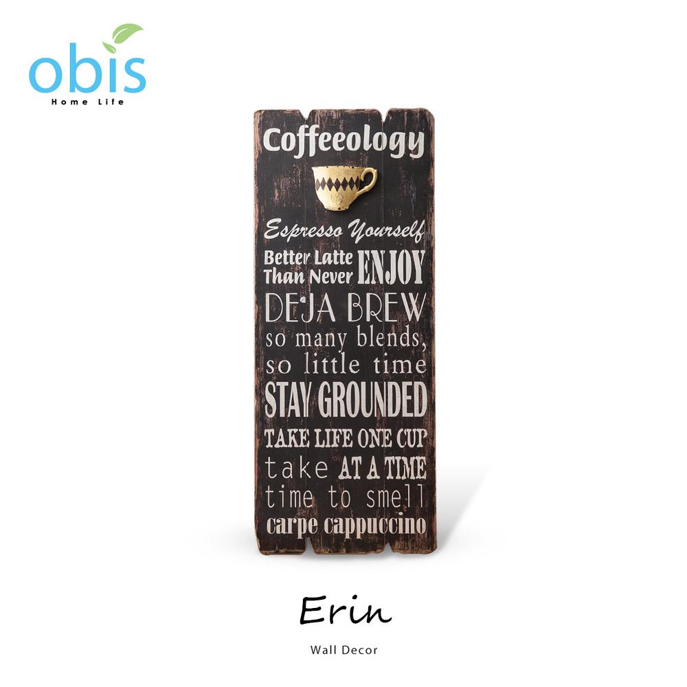 Erin咖啡杯復古風字牌/預購