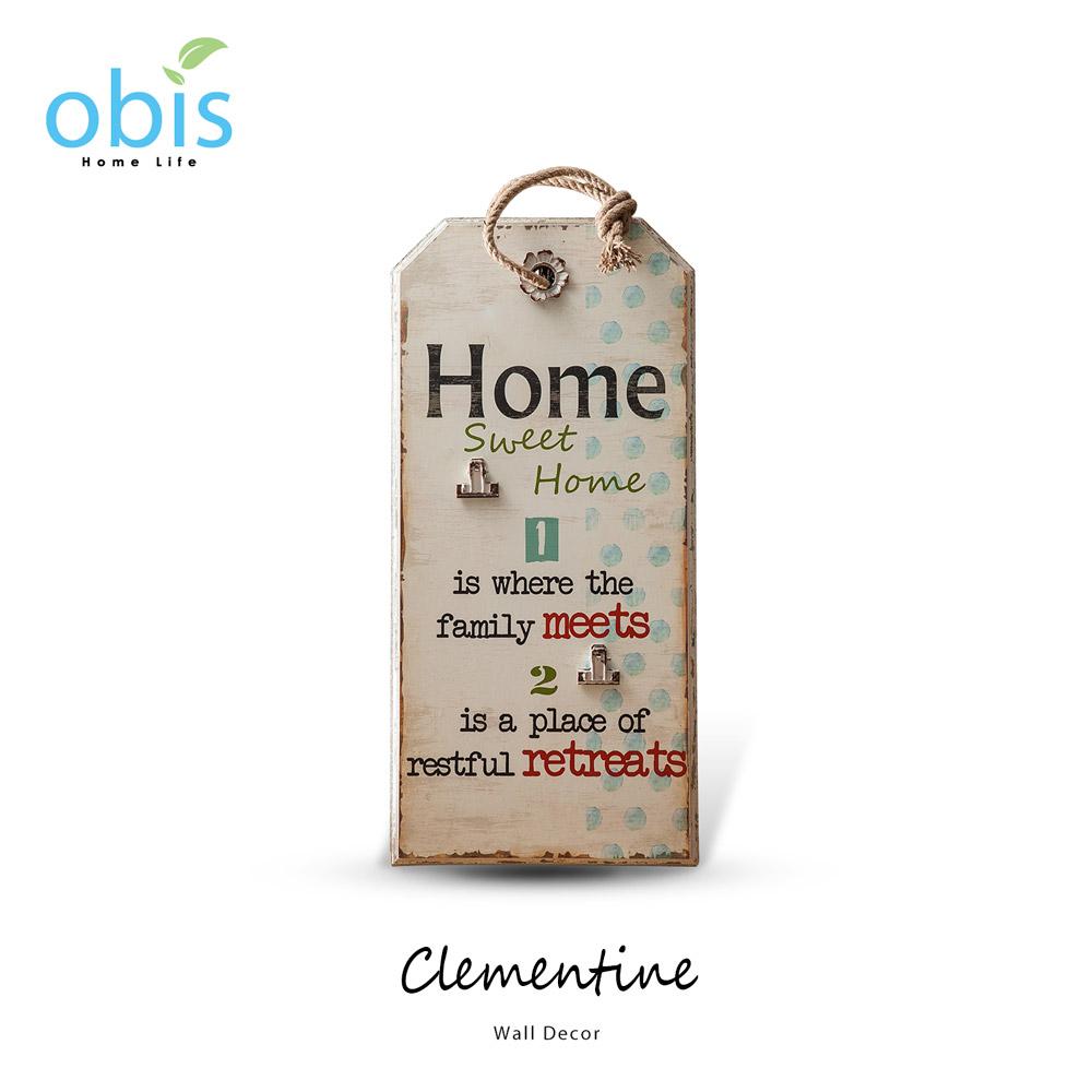 Clementine甜蜜之家復古風字牌/預購