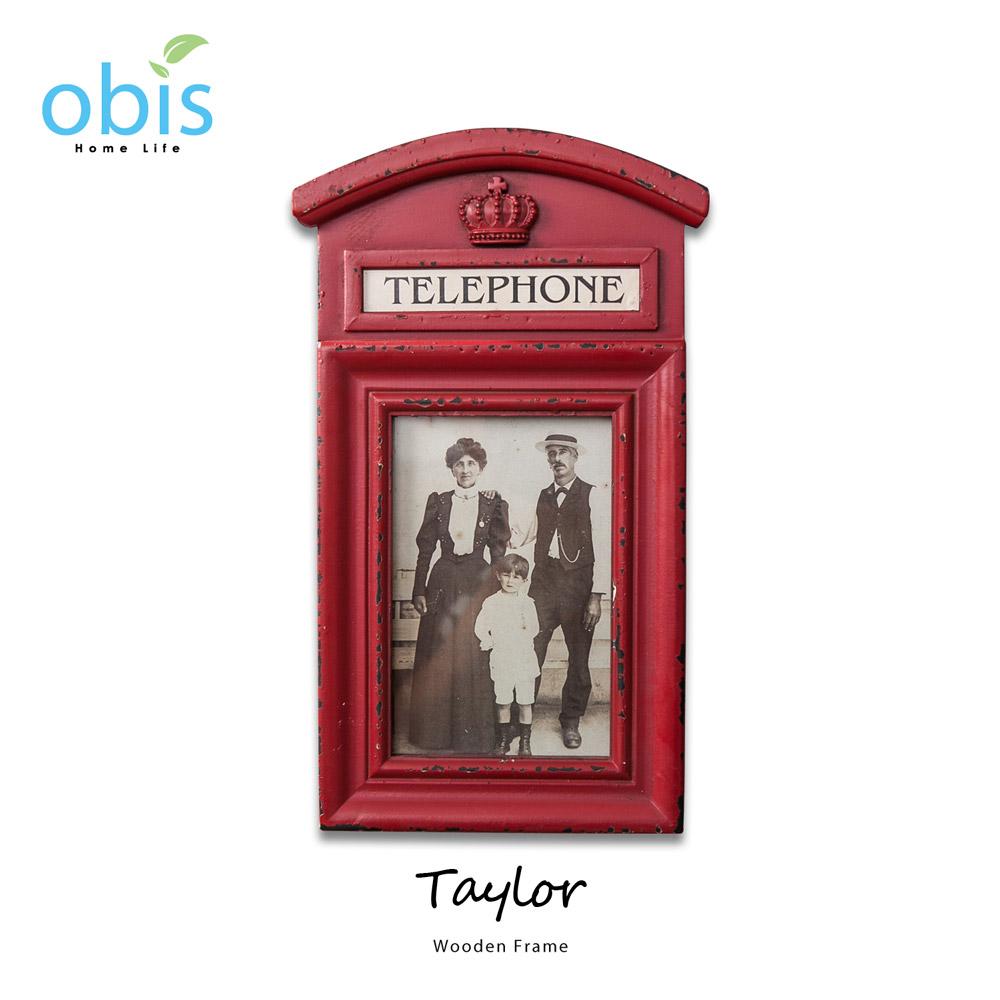 Taylor電話亭造型復古風相框/預購