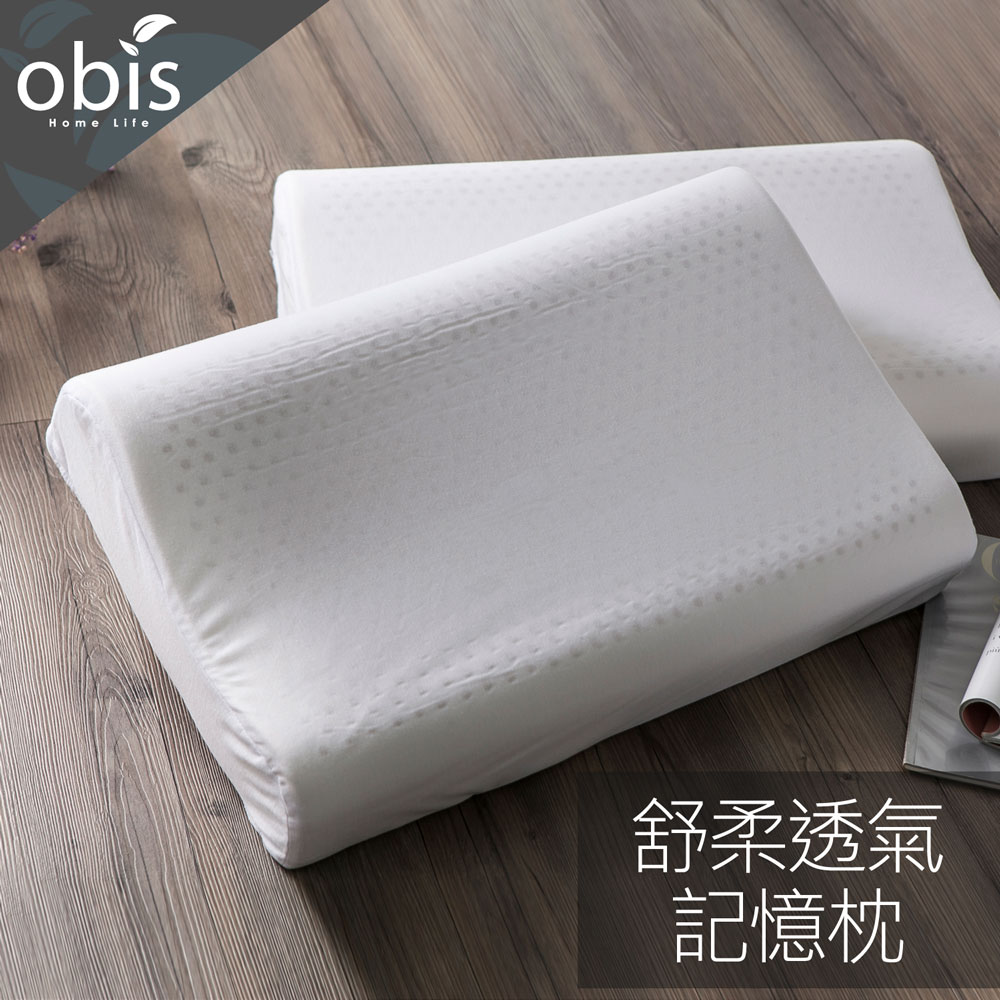 舒柔透氣記憶枕(單入裝)