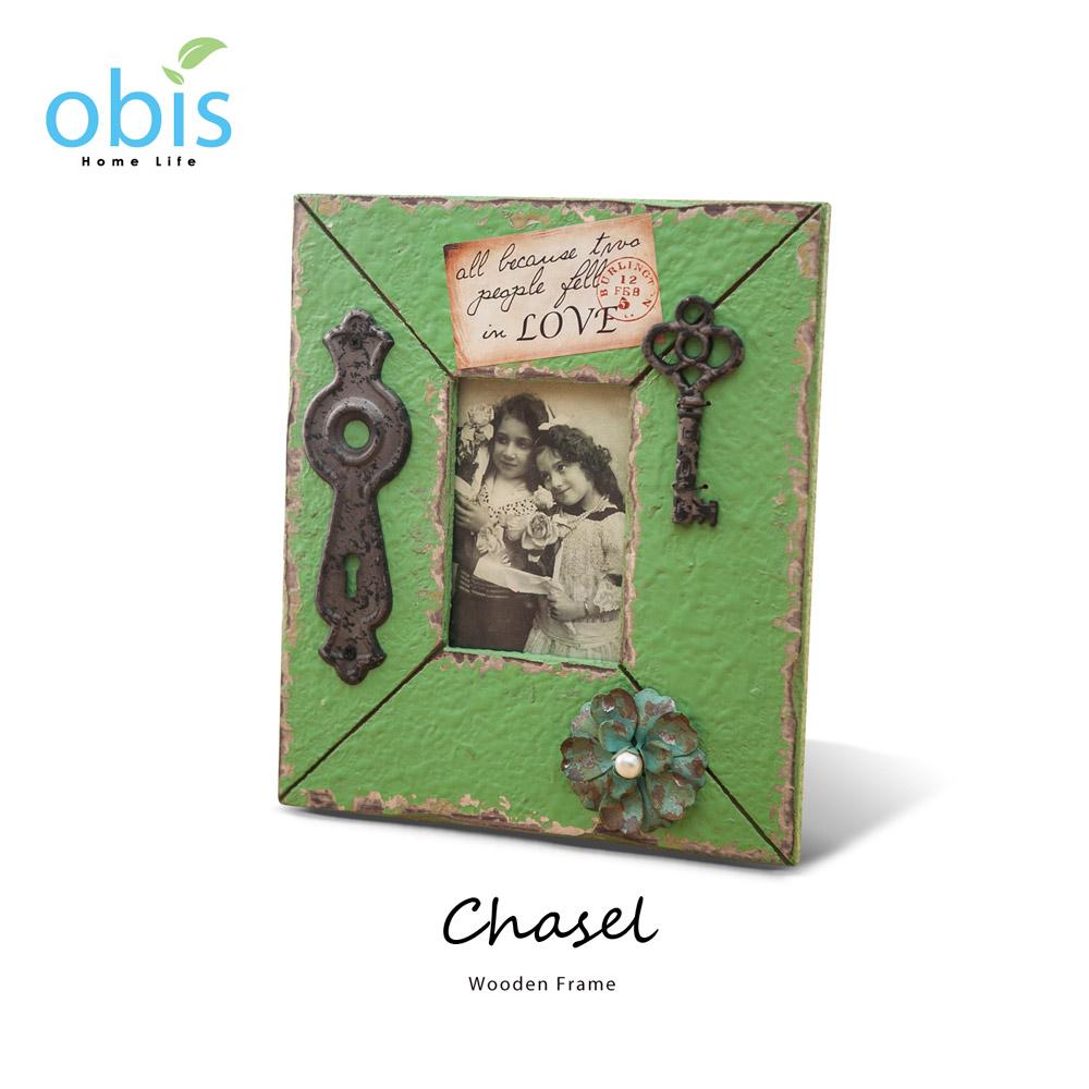 Chasel愛神密語復古風木質相框/預購