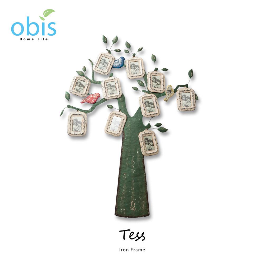 Tess回憶之樹鄉村風壁飾相框/預購