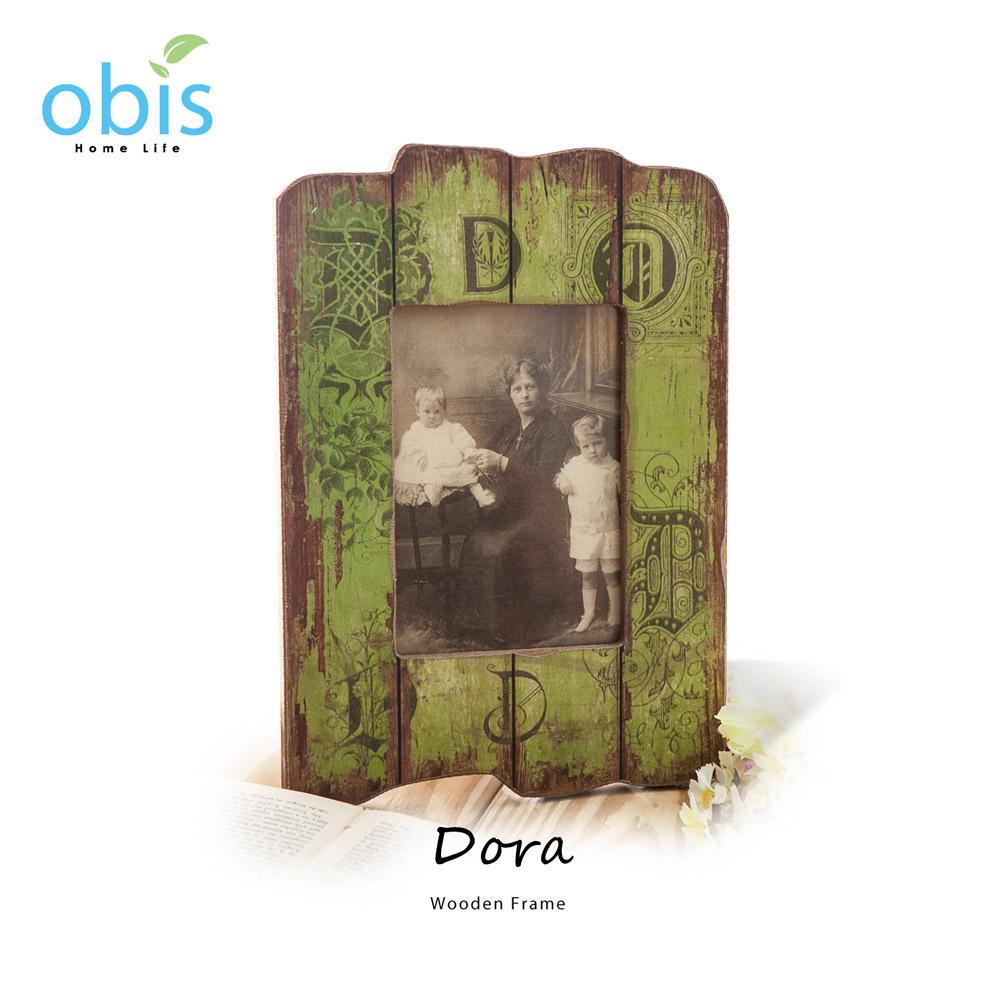 Dora綠野芳蹤鄉村風木質相框/預購