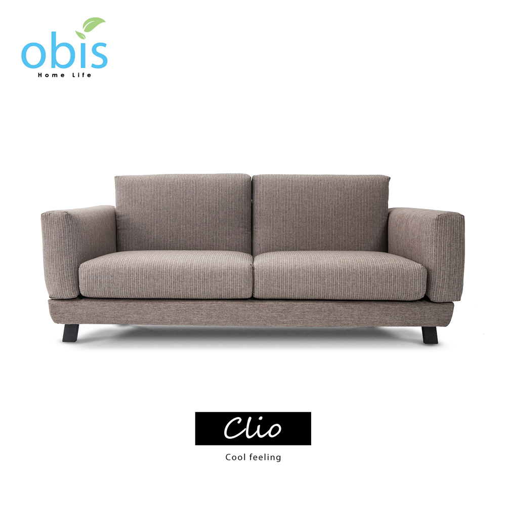 Clio 簡約風涼雙人布沙發