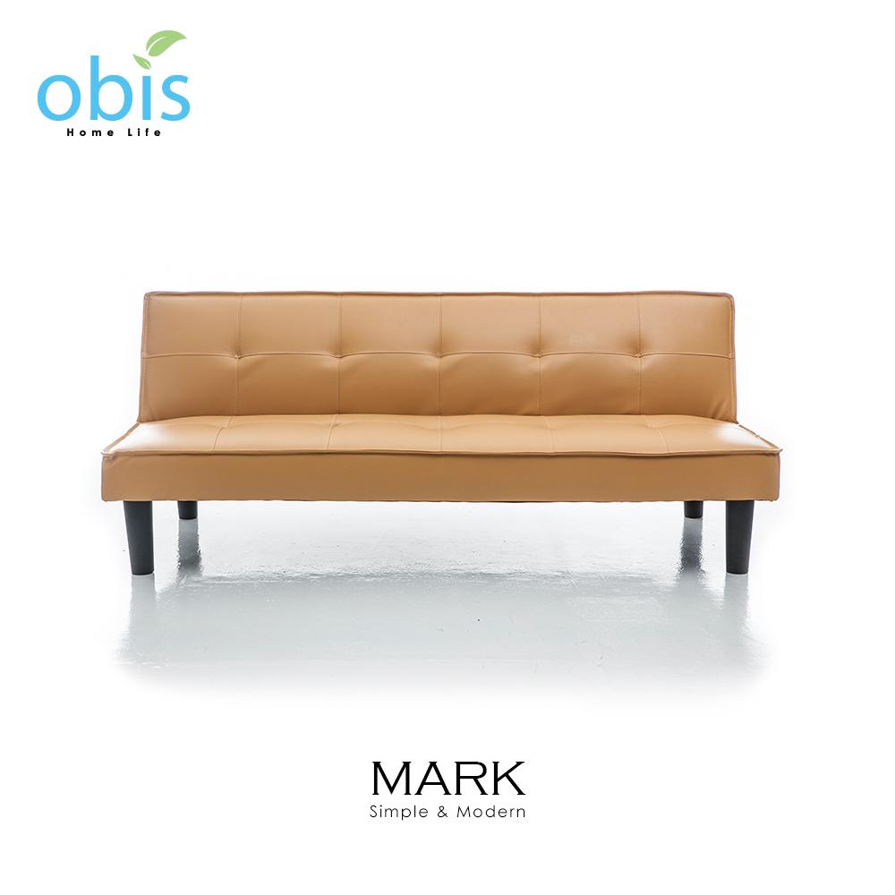 MARK 現代風都會皮質沙發床