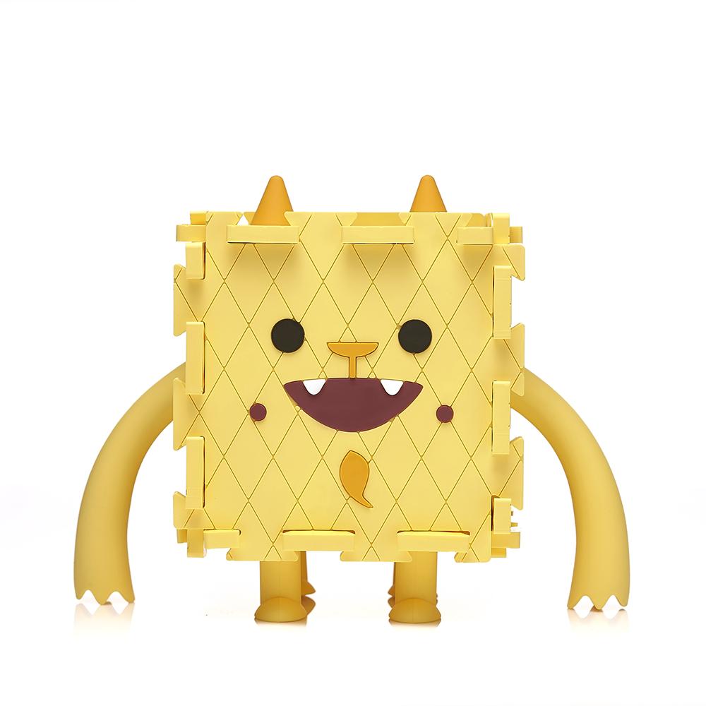 【通通吃光光】Monster Box 怪獸存錢置物盒-黃