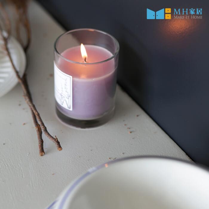 貝爾拉玻璃香氛蠟燭(薰衣草)