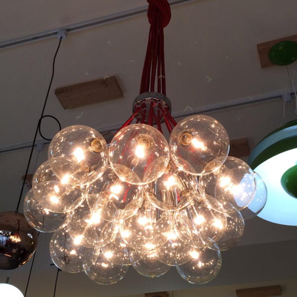 泡泡造型吊燈-13顆燈泡(PO20101)