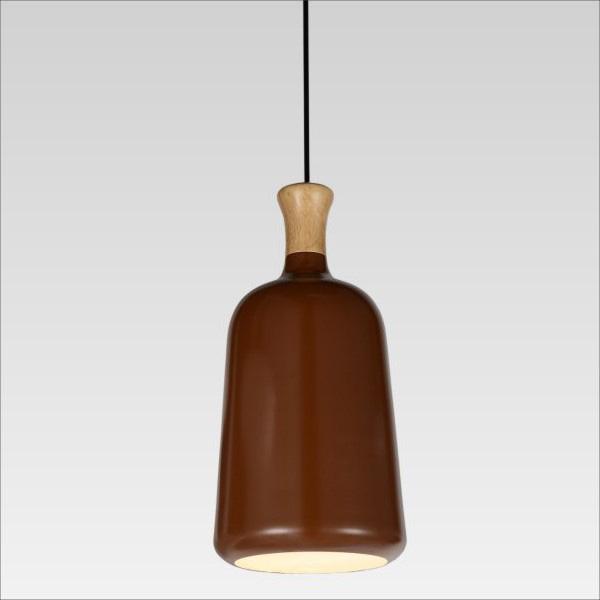 Bottle造型咖啡色吊燈(QD33312)