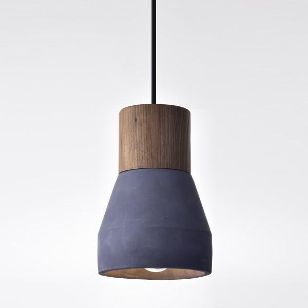 藍色原木水泥吊燈(PS12247)