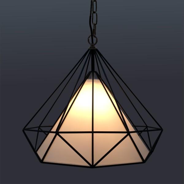 黑色金屬吊燈(PO17501)