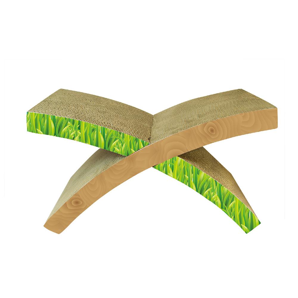 X型貓抓板