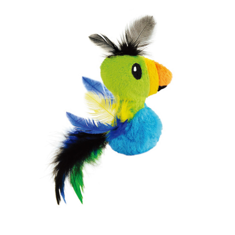 羽毛天堂鳥-貓草玩具