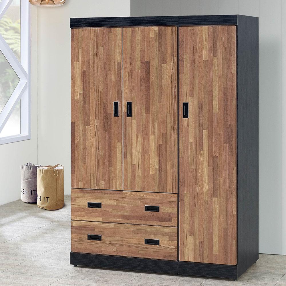 積層木4x6尺衣櫥