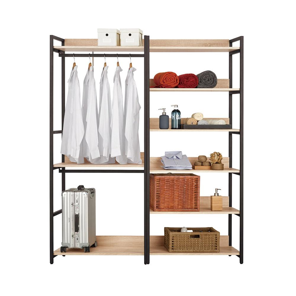 艾麗斯5.2尺組合衣櫃/收納櫃