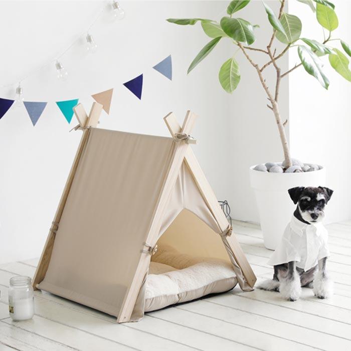 艾希塔寵物帳篷-米色