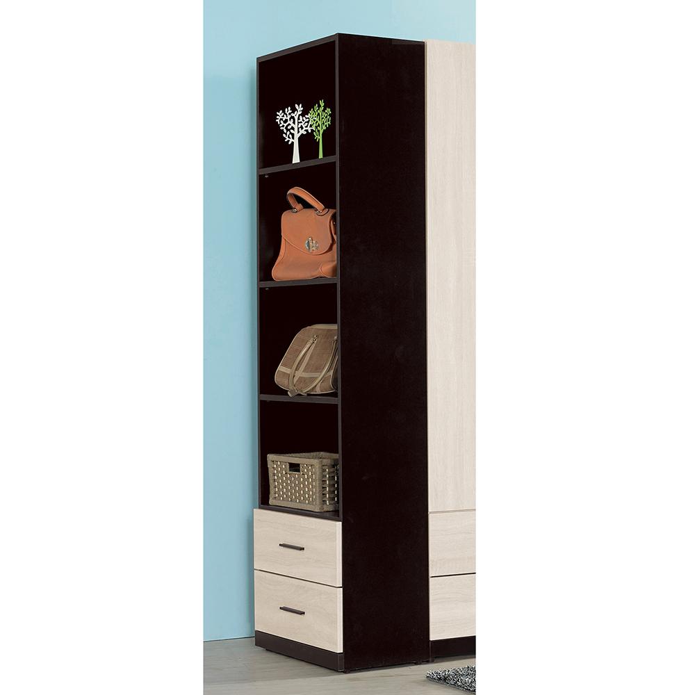 伊凡卡2尺開放式二抽櫃