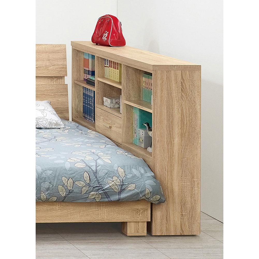 安特北原橡木色床邊櫃