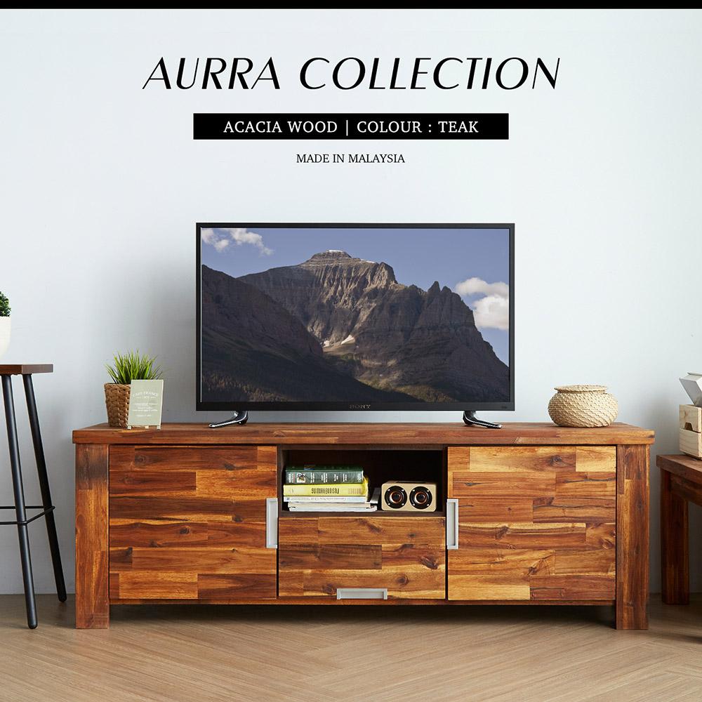 奧拉鄉村系列實木5.3尺電視櫃