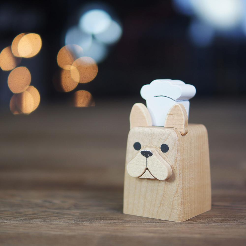 【木匠兄妹】忠實調味罐-法國鬥牛犬
