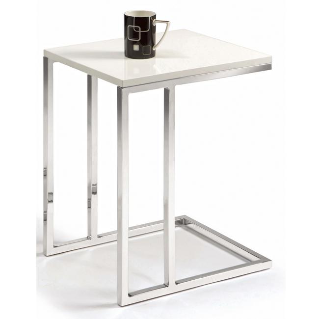 藍斯茶几-白色(15CM/803-8)【H&D DESIGN】