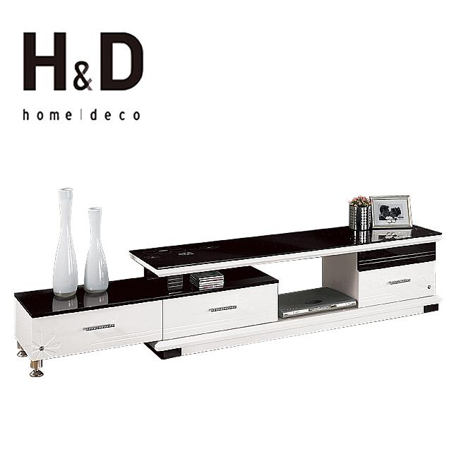 史都華5.6尺伸縮長櫃(15CM/829-2)【H&D DESIGN 】