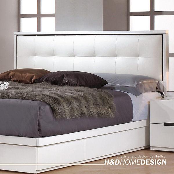 波爾卡5尺床頭片 (15CM689-10)【H&D DESIGN】